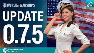 Dasha Presents Update 0.7.5 | World of Warships