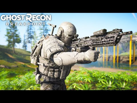 Ghost Recon Breakpoint IS THIS THE BEST GUN IN THE GAME?! Ghost Recon Breakpoint Free Roam - Part 62