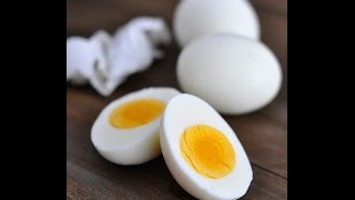 Boiled Eggs, Hard Boiled Eggs, How to Boil Eggs, How Long to Boil Eggs, Perfect Hard Boiled Eggs