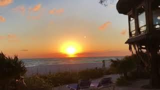 Hopeful sunset