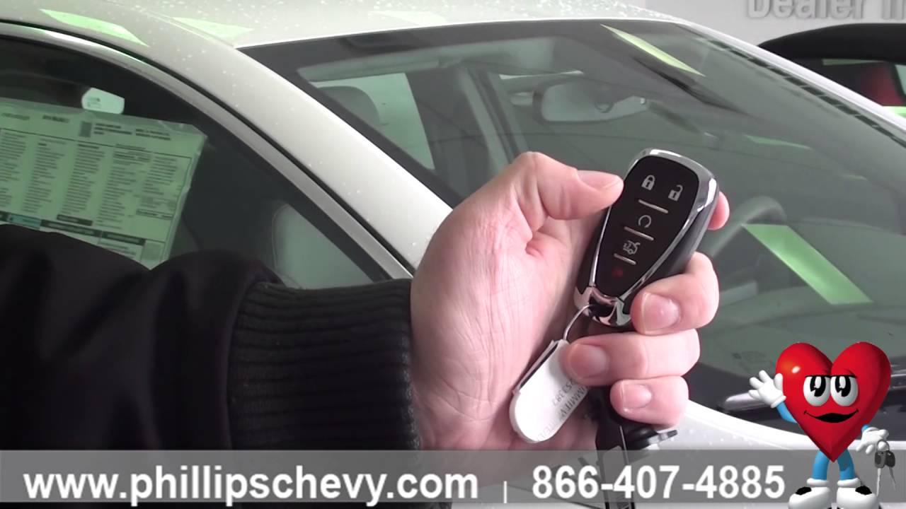 Phillips Chevrolet 2016 Chevy Malibu Remote Start Chicago New Car Dealership Youtube
