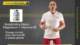 Test et Avis : Magnesium + Vitamine B6 - BodyBuidling Nation