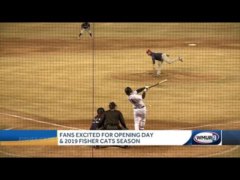 Fans Excited For Opening Day, 2019 Fisher Cats Season