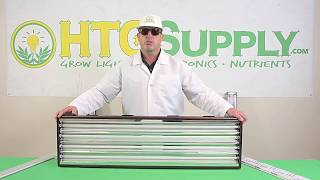 Turn Your T5 Into A Full Spectrum LED Grow Light: AgroMax T5 LED Retrofit Bulbs - simple bulb swap