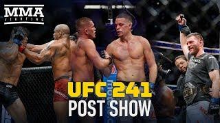 UFC 241 Post-Fight Show - MMA Fighting / Видео