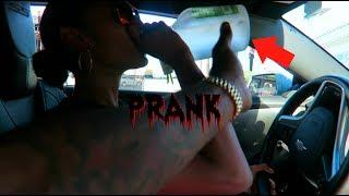 DRINKING & DRIVING PRANK (GONE WRONG) thumbnail
