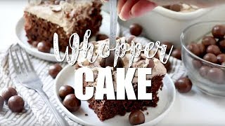 How to make: Whopper Cake a.k.a. Malted Milk Ball Cake