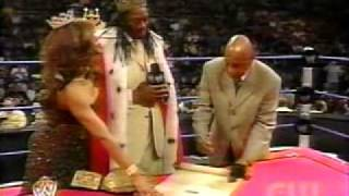 WWE - King Booker-Batista contract signing