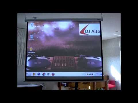 Mi sala de cine en casa con optoma es522 youtube - Sala de cine en casa ...