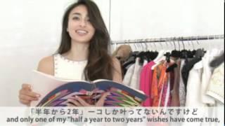 GLAMOROUS 2012年4月号のカバー撮影中の潤に直撃インタビュー。 今回は...