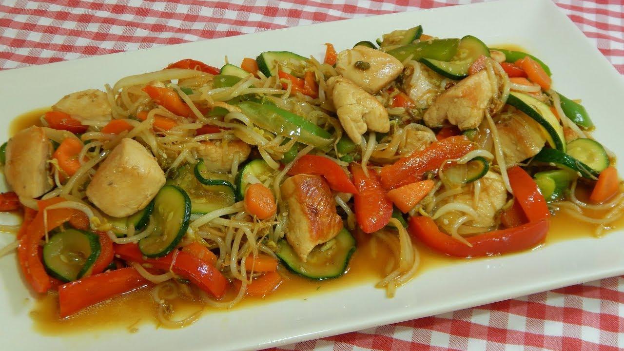 receta f cil de chop suey de pollo y verduras cocina