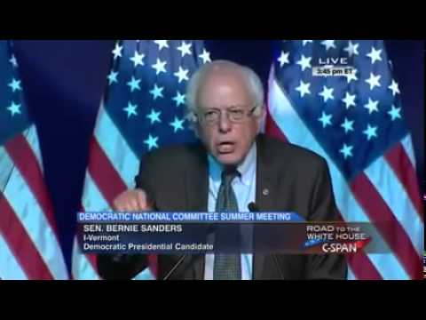 Bernie Sanders FULL SPEECH at DNC Summer Meeting Minneapolis, Minnesota August 28, 2015