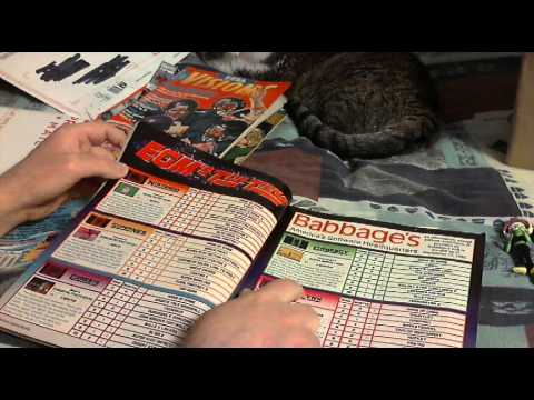 Old Retro Video Game Magazine Pickups (Gamepro, EGM, Sega Visions)