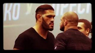"Antonio ""Bigfoot"" Silva vs Ivan Shtyrkov. Face to face, 14.12.2016"