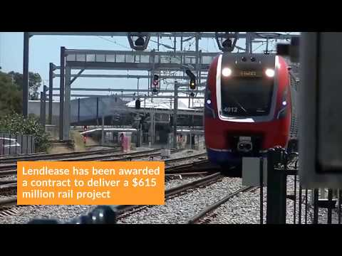Lendlease Announced as Contractor to Deliver the $615 Million Gawler Rail Project