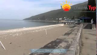 jamtour.org санаторий Амра (Гагра, Абхазия) набережная и пляж(Один из самых красивых санаториев Гагр и всей Абхазии -- это «Амра». Он построен в старой части курорта, благ..., 2014-05-25T02:41:41.000Z)