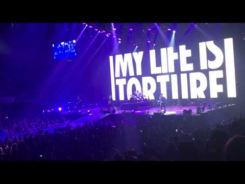 Fall Out Boy - Champion live - TD Garden, Boston, MA - October 27, 2017