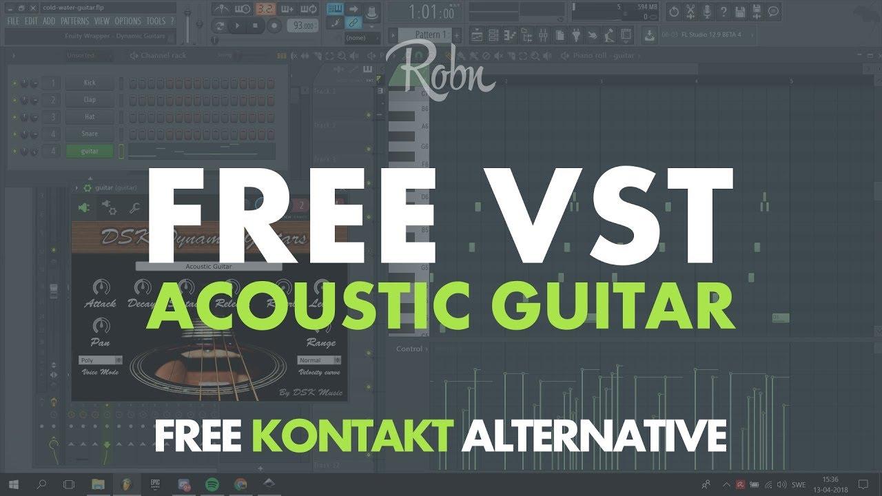 free acoustic guitar vst kontakt alternative youtube. Black Bedroom Furniture Sets. Home Design Ideas