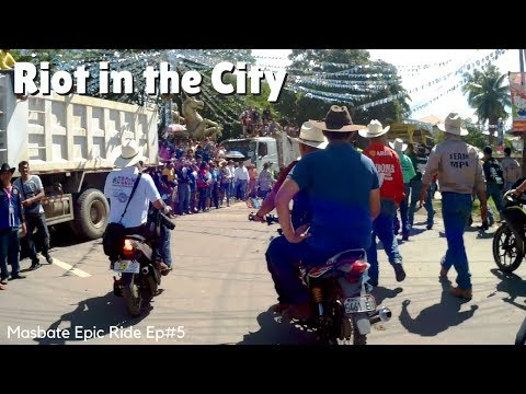 Masbate Ep5: Riot on the Streets, Cattle Drive ¦ Lost Phone, Found