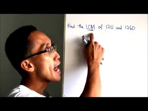 Fast & Easy Ways to Find the LCM of 120 and 1260!