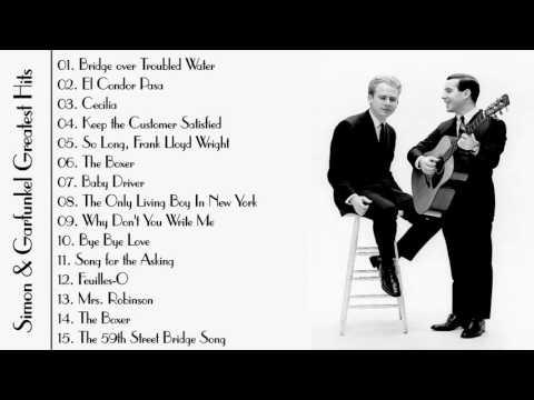 Simon & Garfunkel Greatest Hits Full Album 2016 ♫♫♫ Best Of Simon & Garfunkel