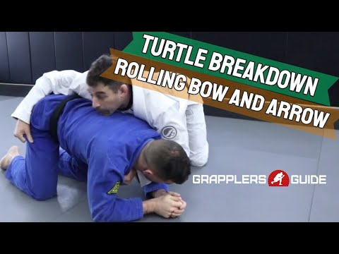 Jared Weiner - Turtle Attack - Nearside Breakdown To Rolling Bow And Arrow Choke