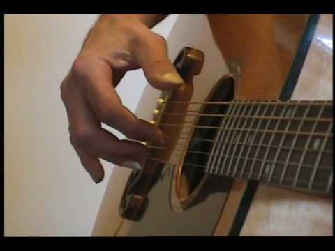 How I learn John Prine fingerpicking songs