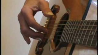 How I learn John Prine fingerpicking songs