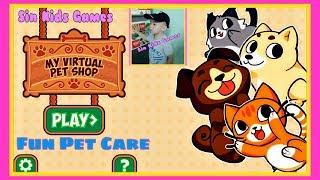 Fun Pet Care Kids Games 🐶 My Virtual Pet Shop Cute Animal Care Game