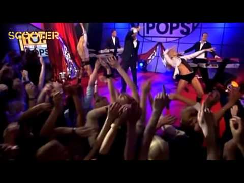 Scooter - Nessaja ( Live At Top Of The Pops RTLTV 2002)HD