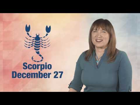 Daily Horoscope December 27, 2016: Scorpio