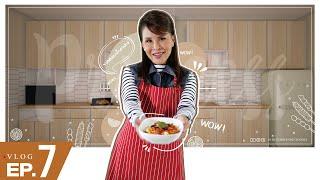 ทูลกระหม่อมฯ ทรงทำอาหารเมนูพิเศษ l Princess Vlog Ep.7
