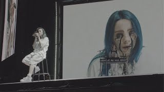 Gambar cover Billie Eilish - when the party's over (Live at Coachella 2019)