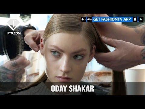 New York Fashion Week Fall/WItner 2017-18 - Oday Shakar Hairstyle | Fashion TV