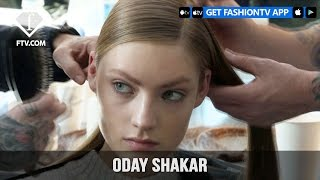 New York Fashion Week Fall/WItner 2017-18 - Oday Shakar Hairstyle | Fashion TV
