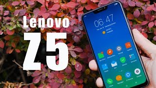 $200 of large screen - Lenovo Z5 hands-on