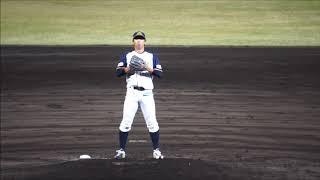 福井ミラクルエレファンツ#22坂本竜三郎2019 05 22阪神二軍交流戦(フェニスタ)