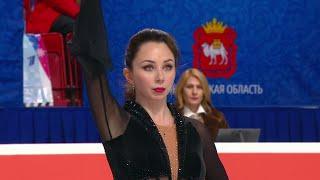 Елизавета Туктамышева Произвольная программа Женщины Чемпионат России по фигурному катанию 2021