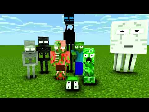 Monster School : MOMO Season 2 ( Part 1 ) - Minecraft Animat
