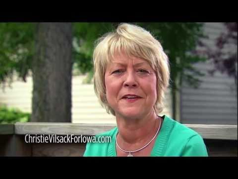 Christie Vilsack for Iowa Announcement