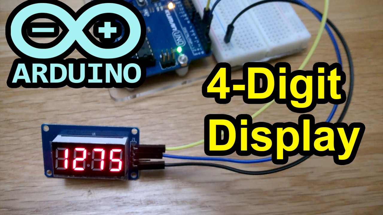 Arduino Code 4 Digit Display Tm1637 7 Segment Leds Countdown Digital Stopwatch With 7segment Schematic Timer