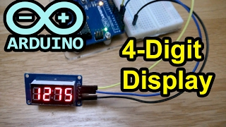 arduino code 4 digit display tm1637 7 segment leds countdown timer