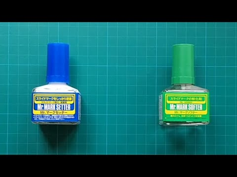 [Scale Modelling] Decal Setter vs. Decal Softer