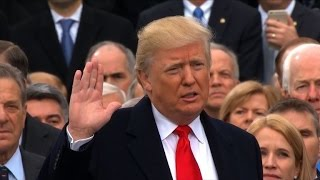 """Trump-Vereidigung: Von heute an gilt """"Amerika zuerst"""""""