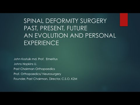 History of Deformity Surgery by John Kostuik, M.D.
