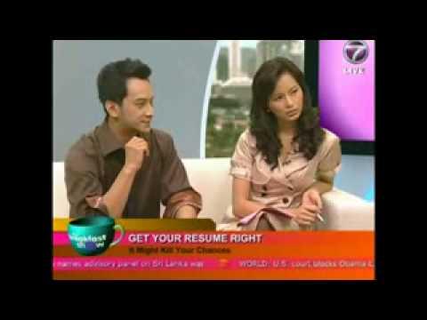 NTV7 Breakfast Show - Killer Resume Part 2