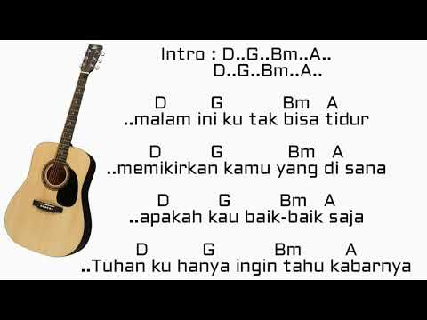 Chord gitar D'Masiv & Rossa - Pernah memiliki (Ft. David - Noah)