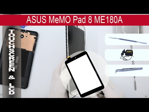 How to replace 🔧 Digitizer (Touch screen) 📱 ASUS MeMO Pad 8 ME180A