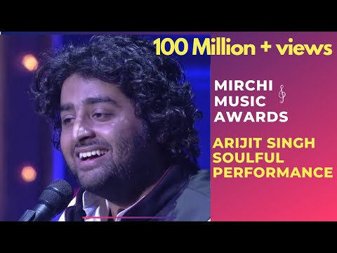 Arijit Singh with his soulful performance on the stage of 6th Royal ...