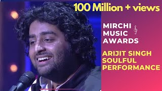 Arijit Singh With His Soulful Performance , 6th Royal Stag Mirchi Music Awards , Radio Mirchi